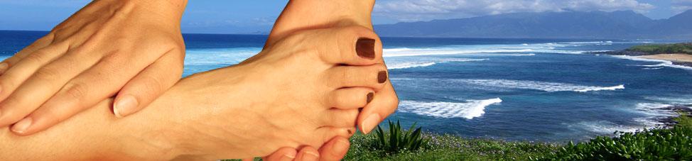 Unsere Füße dürfen uns jeden Tag tragen, deshalb gönnen Sie Ihren Füßen doch mal eine Fußmassage...